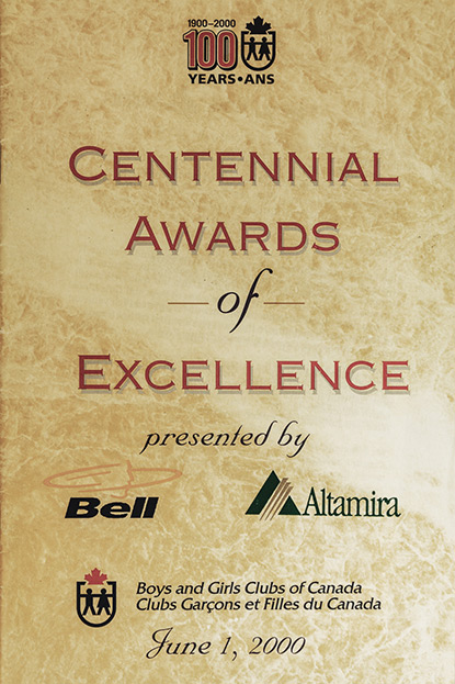 Prix du Centenaire du Canada (Centennial Awards of Excellence)